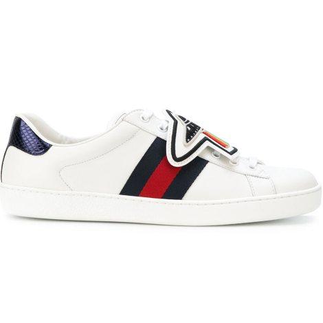 Gucci Ace UFO Ayakkabı Beyaz - 2 #Gucci #GucciAceUFO #Ayakkabı