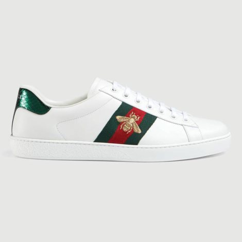 Gucci Ace Bee Ayakkabı Beyaz - 73 #Gucci #GucciAceBee #Ayakkabı