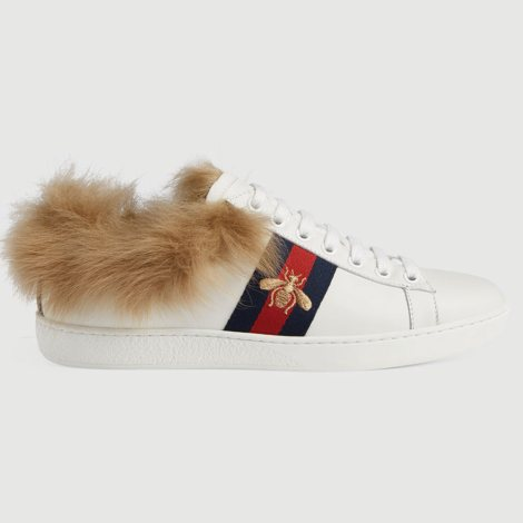 Gucci Ace Bee Ayakkabı Beyaz - 71 #Gucci #GucciAceBee #Ayakkabı