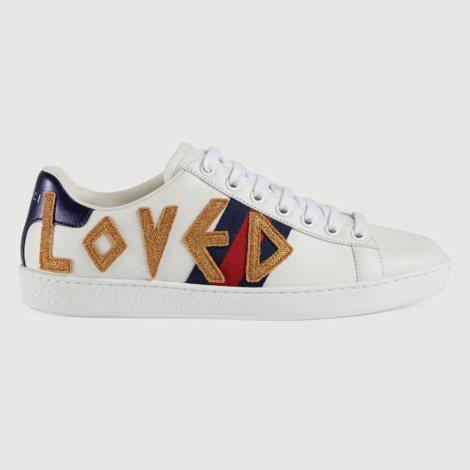 Gucci Ace Loved Ayakkabı Beyaz - 69 #Gucci #GucciAceLoved #Ayakkabı
