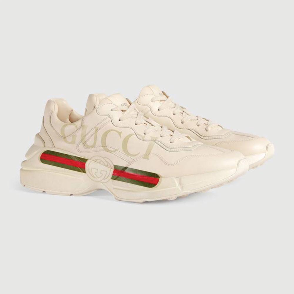Gucci Ace Leather Ayakkabı Beyaz - 26 #Gucci #GucciAceLeather #Ayakkabı - 2
