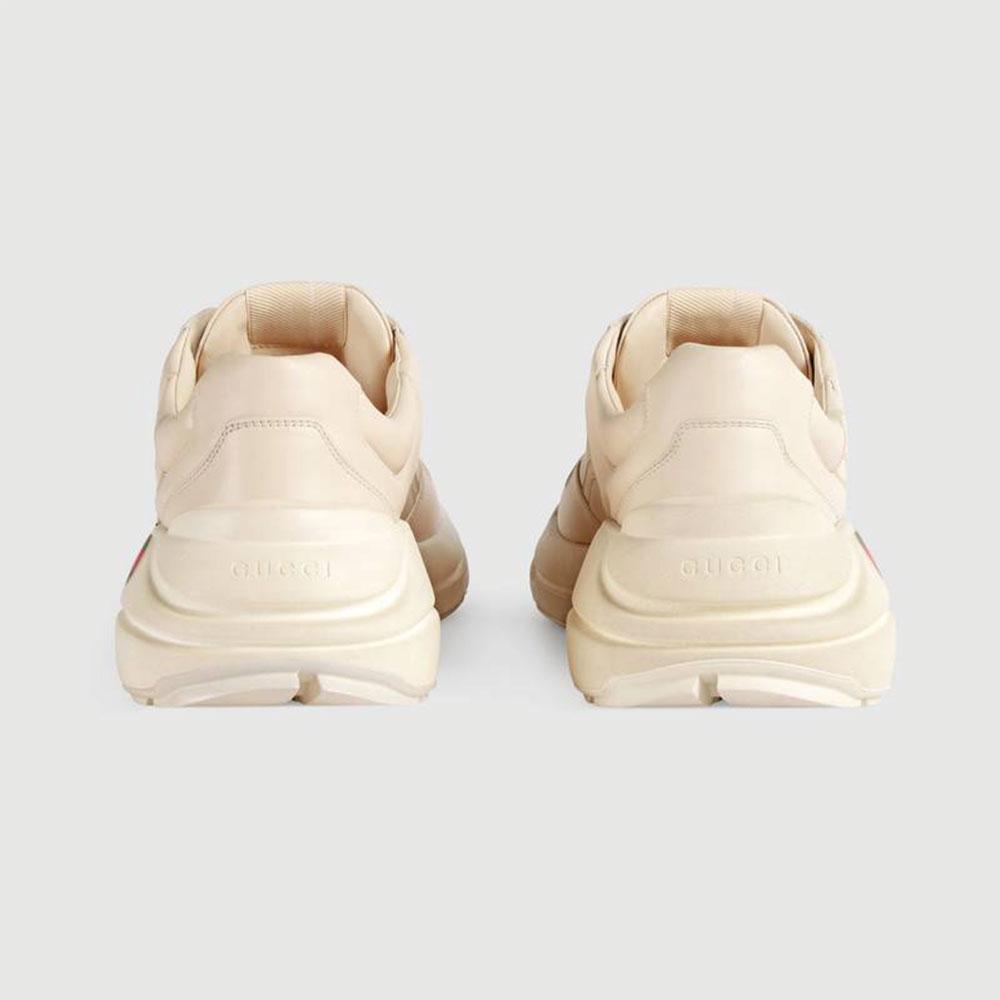 Gucci Ace Leather Ayakkabı Beyaz - 26 #Gucci #GucciAceLeather #Ayakkabı - 4