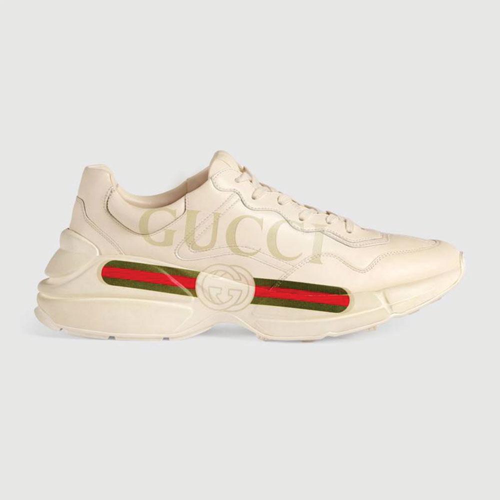 Gucci Ace Leather Ayakkabı Beyaz - 26 #Gucci #GucciAceLeather #Ayakkabı