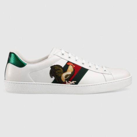 Gucci Ace NewYear Ayakkabı Beyaz - 4 #Gucci #GucciAceNewYear #Ayakkabı