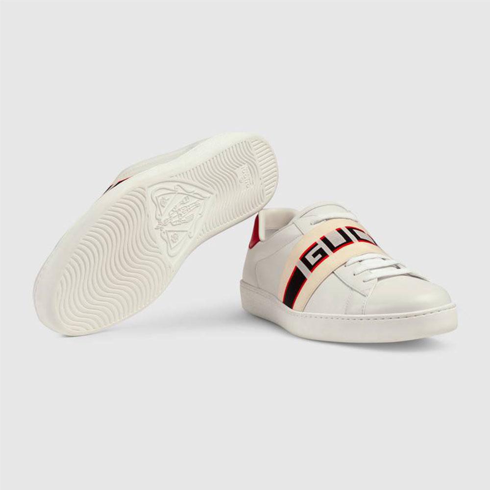 Gucci Stripe Ayakkabı Beyaz - 35 #Gucci #GucciStripe #Ayakkabı - 4