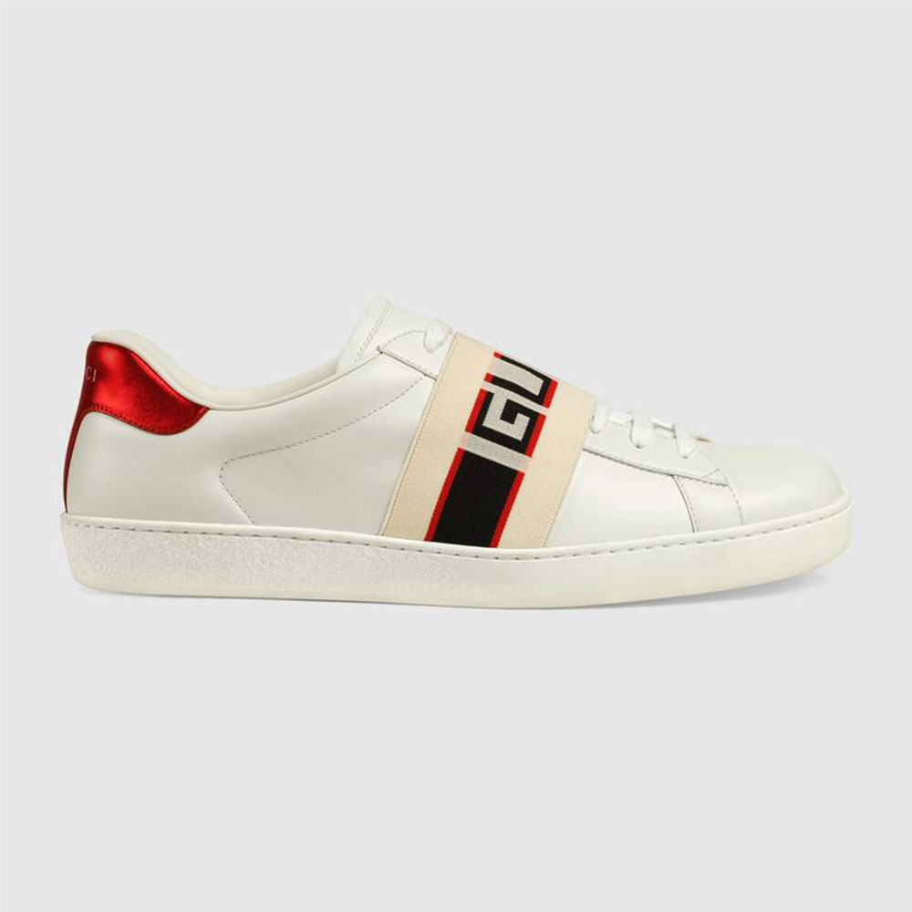 Gucci Stripe Ayakkabı Beyaz - 35 #Gucci #GucciStripe #Ayakkabı