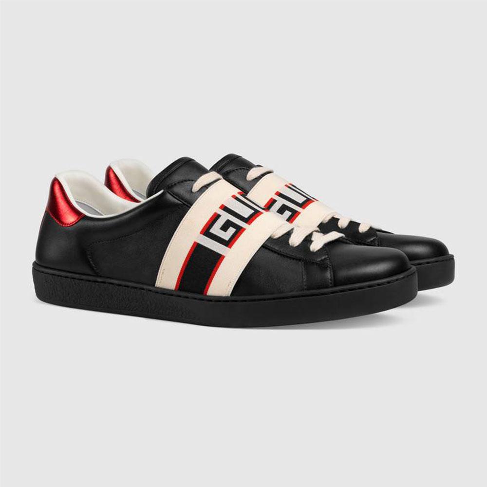 Gucci Stripe Ayakkabı Siyah - 36 #Gucci #GucciStripe #Ayakkabı - 2