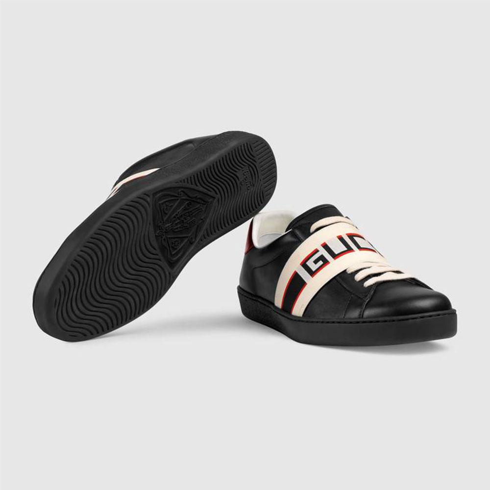 Gucci Stripe Ayakkabı Siyah - 36 #Gucci #GucciStripe #Ayakkabı - 4