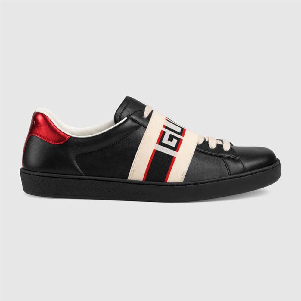 Gucci Stripe Ayakkabı Siyah - 36 #Gucci #GucciStripe #Ayakkabı