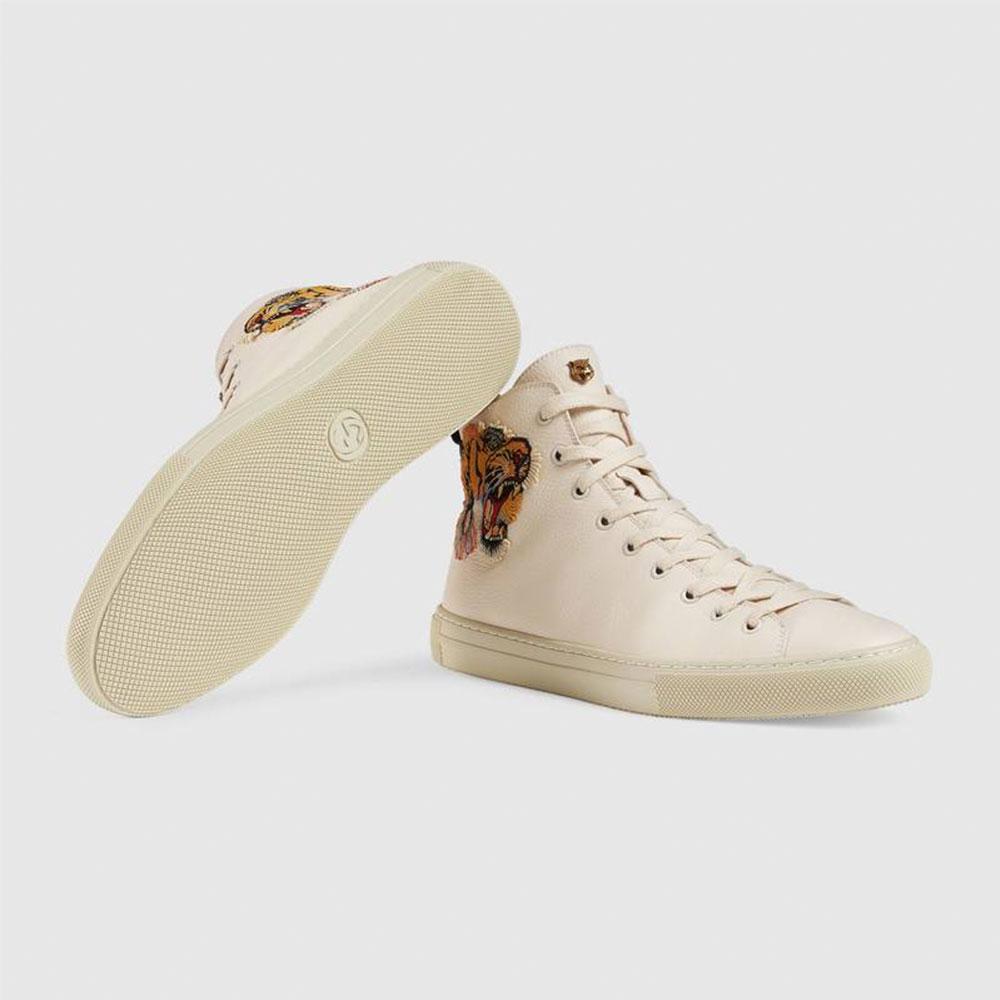 Gucci Tiger Ayakkabı Beyaz - 32 #Gucci #GucciTiger #Ayakkabı - 4