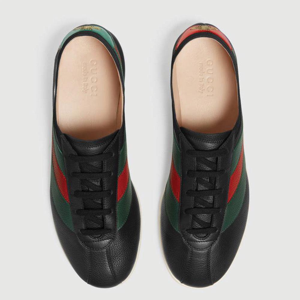 Gucci Ace Leather Ayakkabı Siyah - 24 #Gucci #GucciAceLeather #Ayakkabı - 2