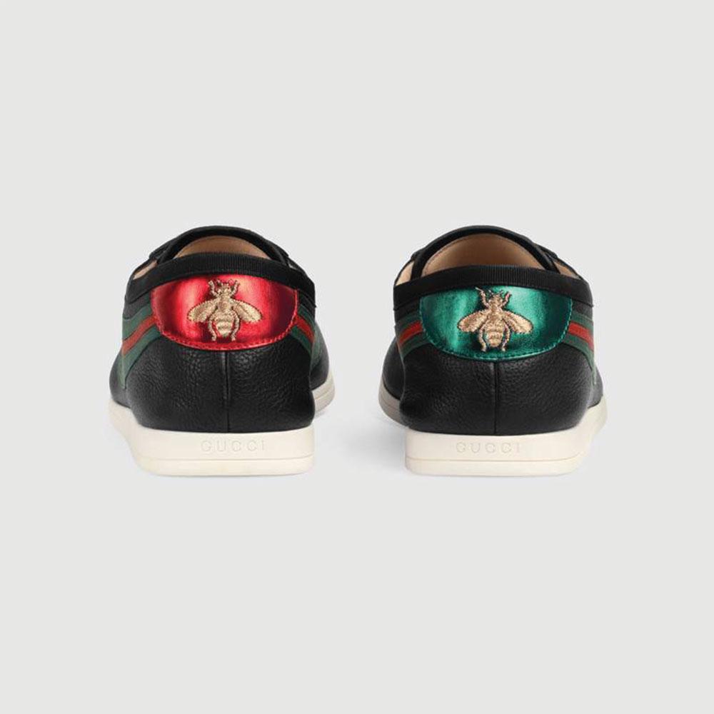 Gucci Ace Leather Ayakkabı Siyah - 24 #Gucci #GucciAceLeather #Ayakkabı - 4
