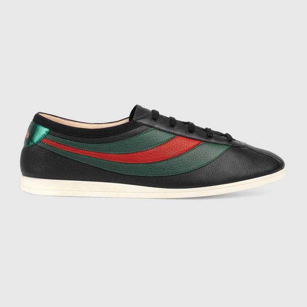 Gucci Ace Leather Ayakkabı Siyah - 24 #Gucci #GucciAceLeather #Ayakkabı