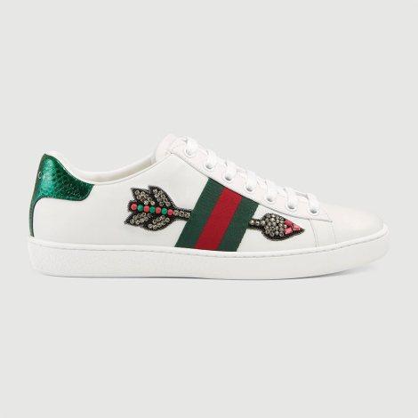 Gucci Ace Ayakkabı Beyaz - 64 #Gucci #GucciAce #Ayakkabı