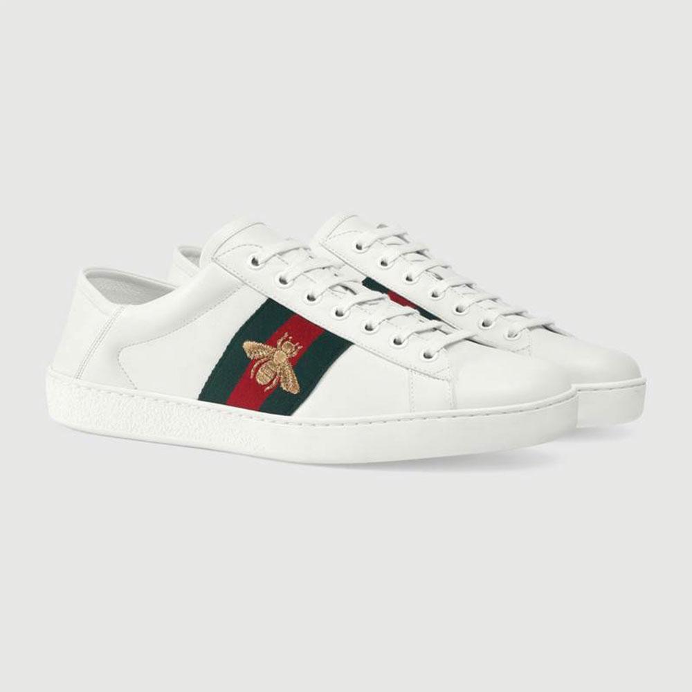 Gucci Ace Bee Ayakkabı Beyaz - 27 #Gucci #GucciAceBee #Ayakkabı - 2