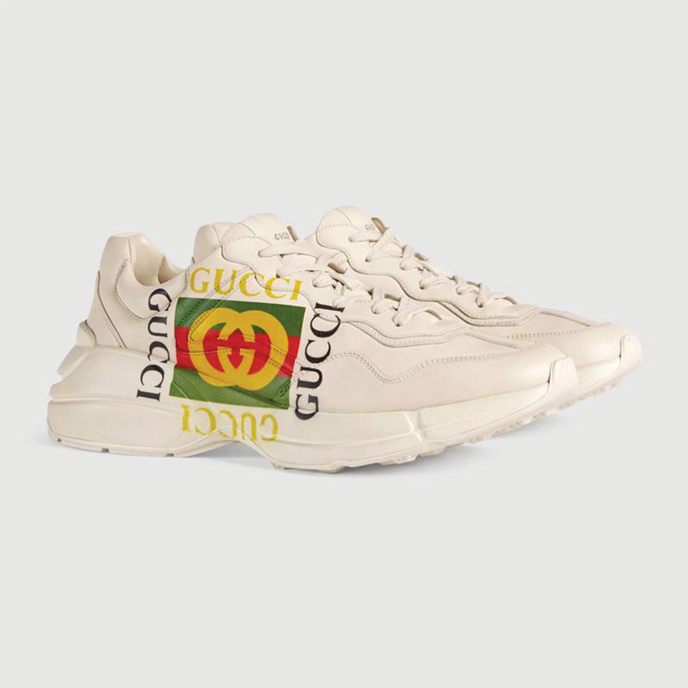 Gucci Ace Leather Ayakkabı Beyaz - 25 #Gucci #GucciAceLeather #Ayakkabı - 2