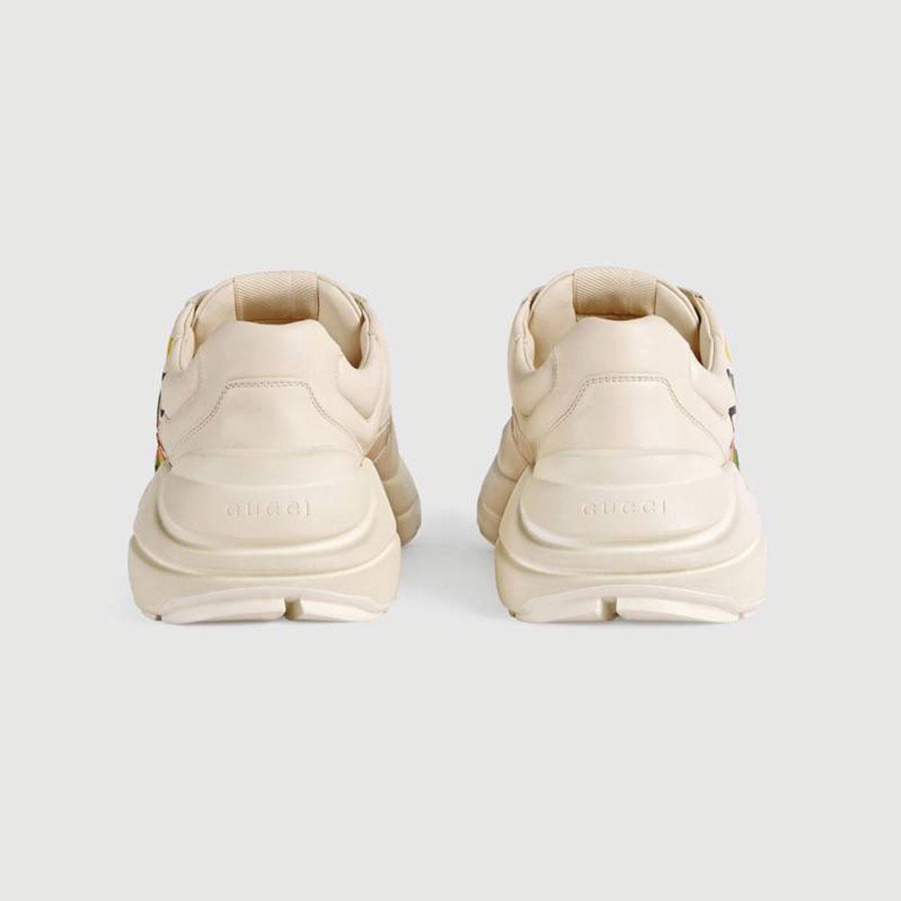 Gucci Ace Leather Ayakkabı Beyaz - 25 #Gucci #GucciAceLeather #Ayakkabı - 4