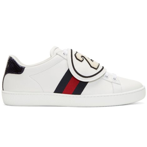 Gucci Ace Ayakkabı Beyaz - 5 #Gucci #GucciAce #Ayakkabı