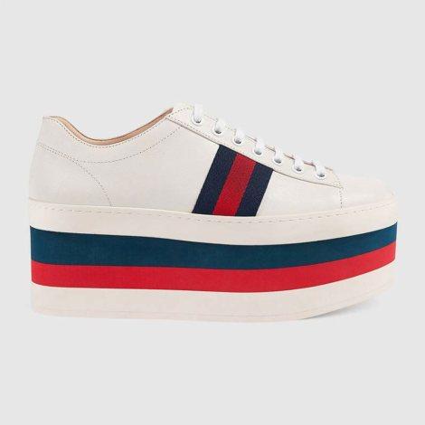 Gucci Leather Ayakkabı Beyaz - 50 #Gucci #GucciLeather #Ayakkabı