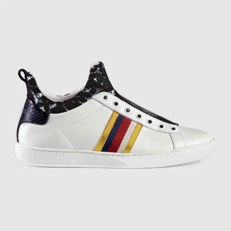 Gucci Leather Ayakkabı Beyaz - 61 #Gucci #GucciLeather #Ayakkabı