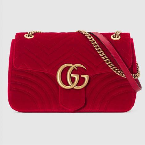 Gucci Çanta Marmont Medium Kırmızı #Gucci #Çanta #GucciÇanta #Kadın #GucciMarmont Medium #Marmont Medium