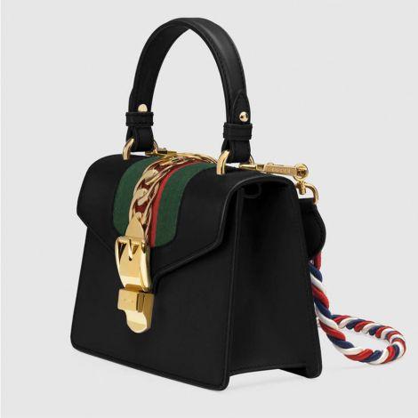 Gucci Çanta Sylvie Mini Siyah #Gucci #Çanta #GucciÇanta #Kadın #GucciSylvie Mini #Sylvie Mini