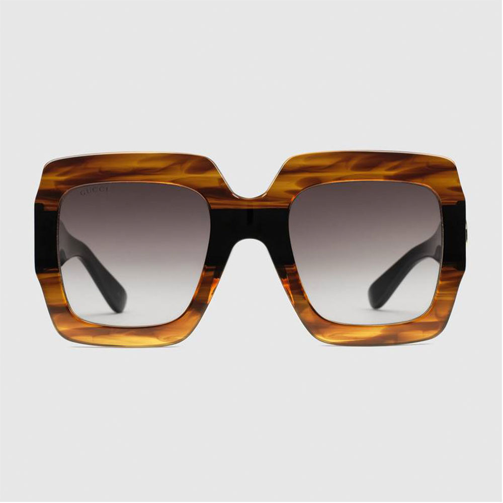 Gucci Square Gözlük Tortoise - 6 #Gucci #GucciSquare #Gözlük