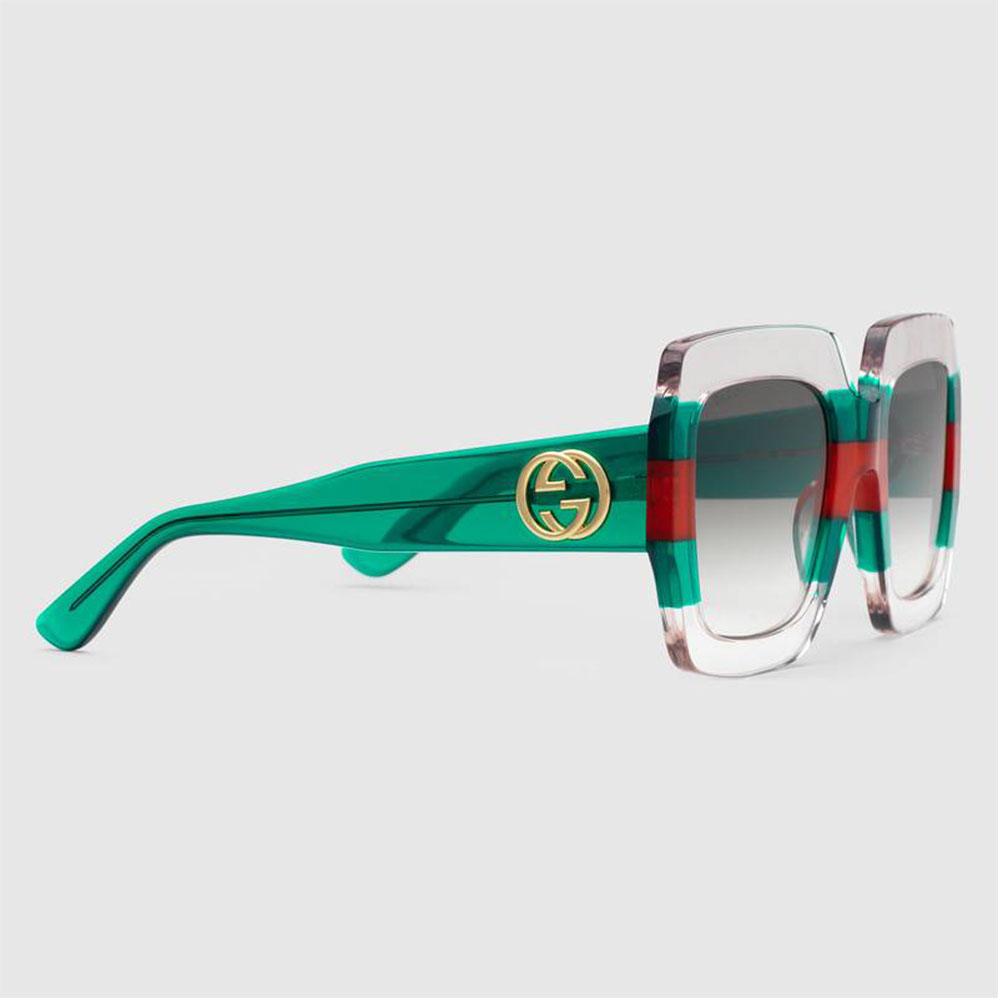 Gucci Square Gözlük Transparan - 3 #Gucci #GucciSquare #Gözlük - 2