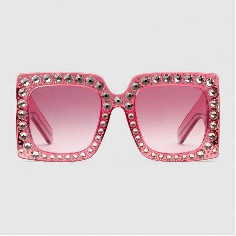 Gucci Gözlük Square Pembe #Gucci #Gözlük #GucciGözlük #Kadın #GucciSquare #Square