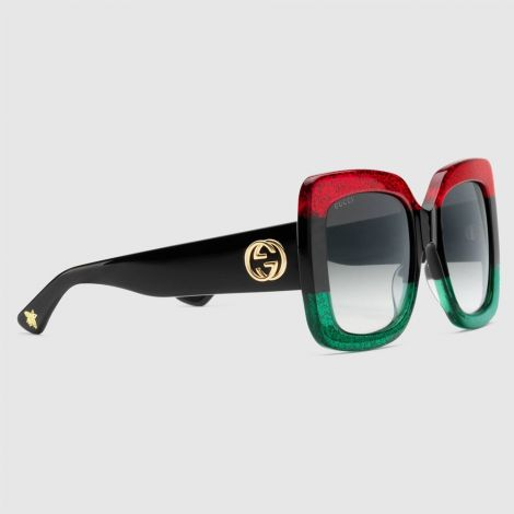 Gucci Gözlük Square Kırmızı #Gucci #Gözlük #GucciGözlük #Kadın #GucciSquare #Square