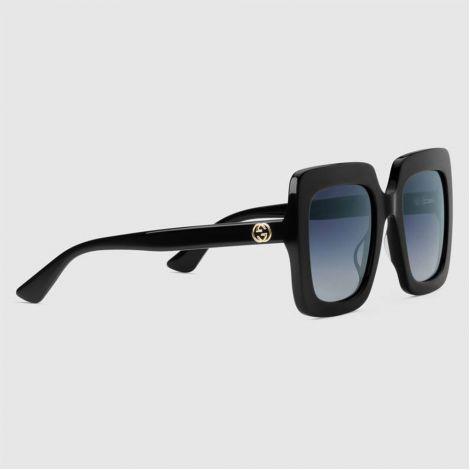 Gucci Gözlük Square Siyah #Gucci #Gözlük #GucciGözlük #Kadın #GucciSquare #Square