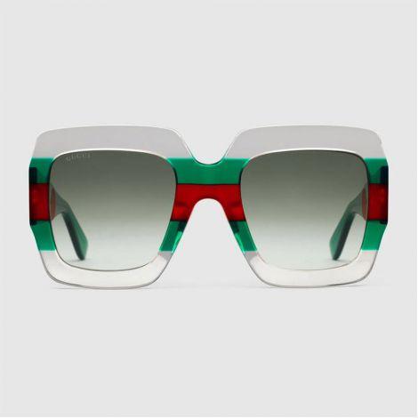 Gucci Gözlük Square Transparan #Gucci #Gözlük #GucciGözlük #Kadın #GucciSquare #Square