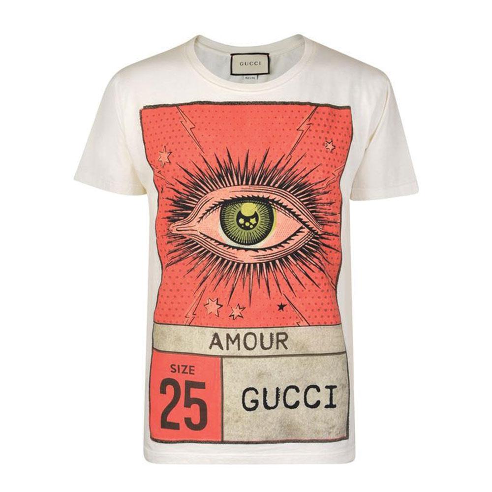Gucci Amour Tişört Beyaz - 106 #Gucci #GucciAmour #Tişört