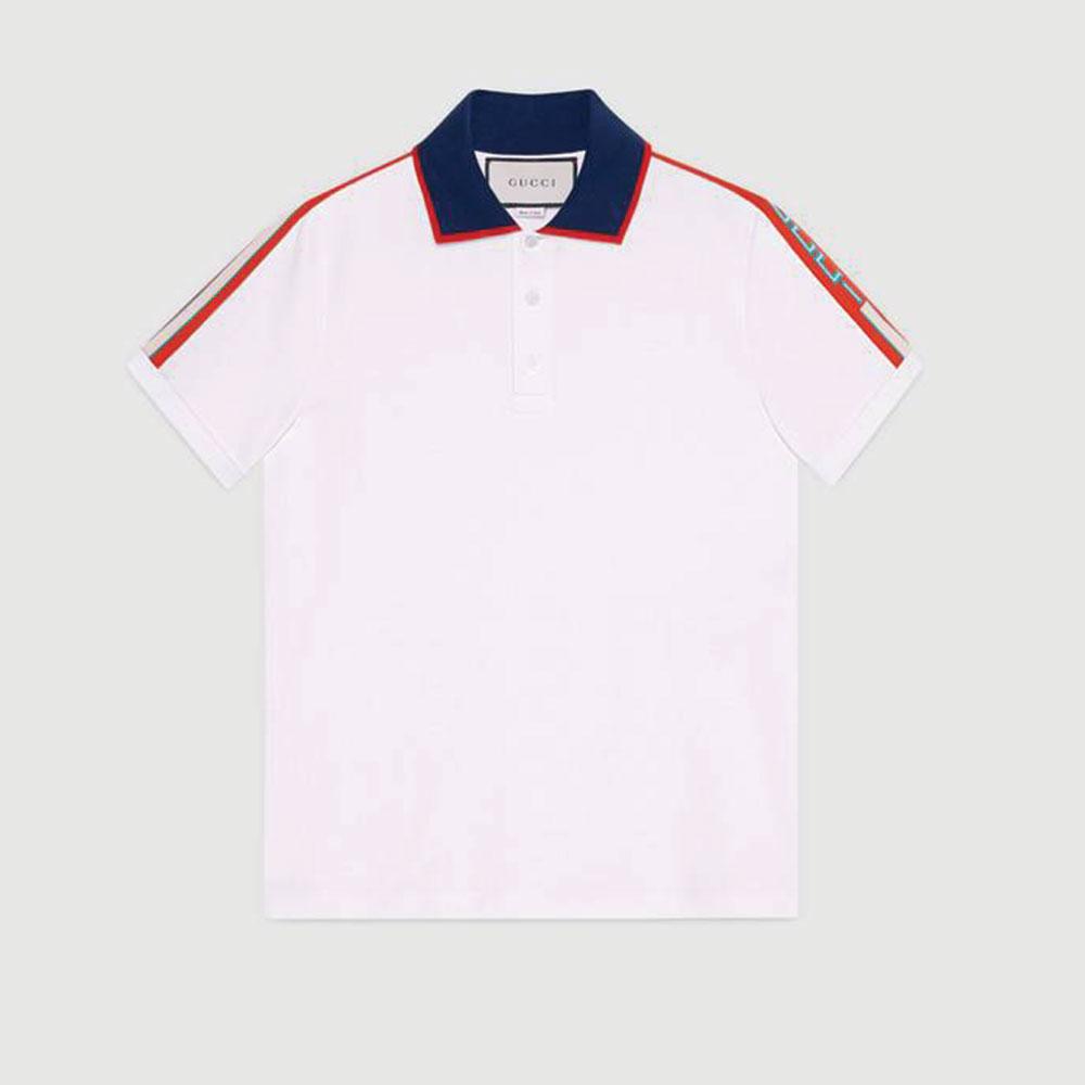 Gucci Stripe Tişört Beyaz - 101 #Gucci #GucciStripe #Tişört