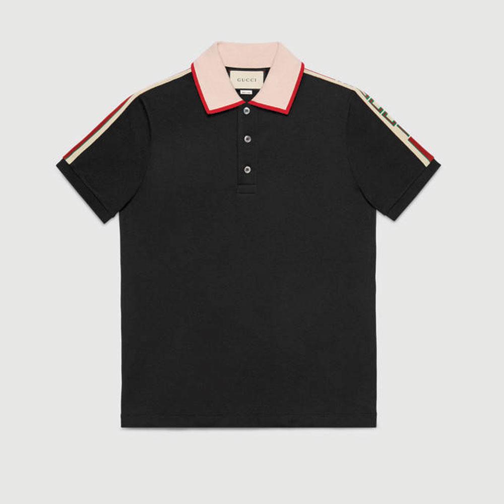 Gucci Stripe Tişört Siyah - 102 #Gucci #GucciStripe #Tişört