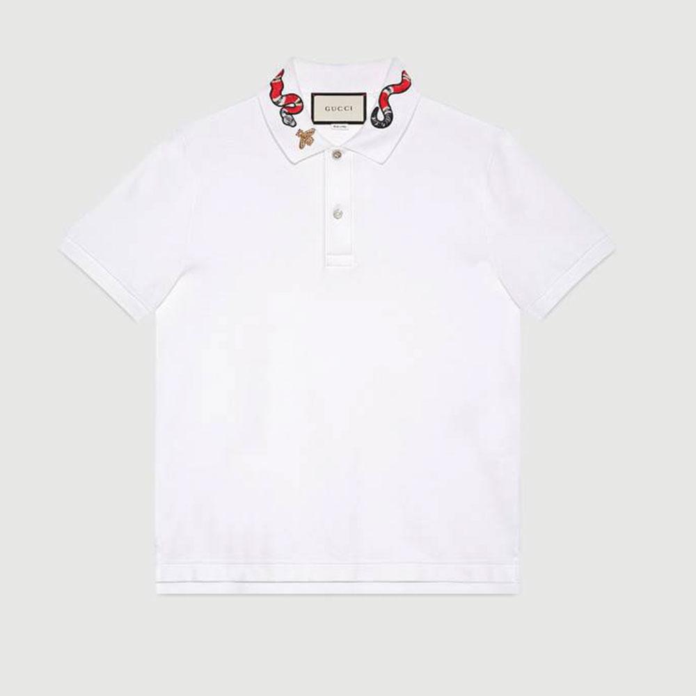Gucci Kingsnake Tişört Beyaz - 103 #Gucci #GucciKingsnake #Tişört