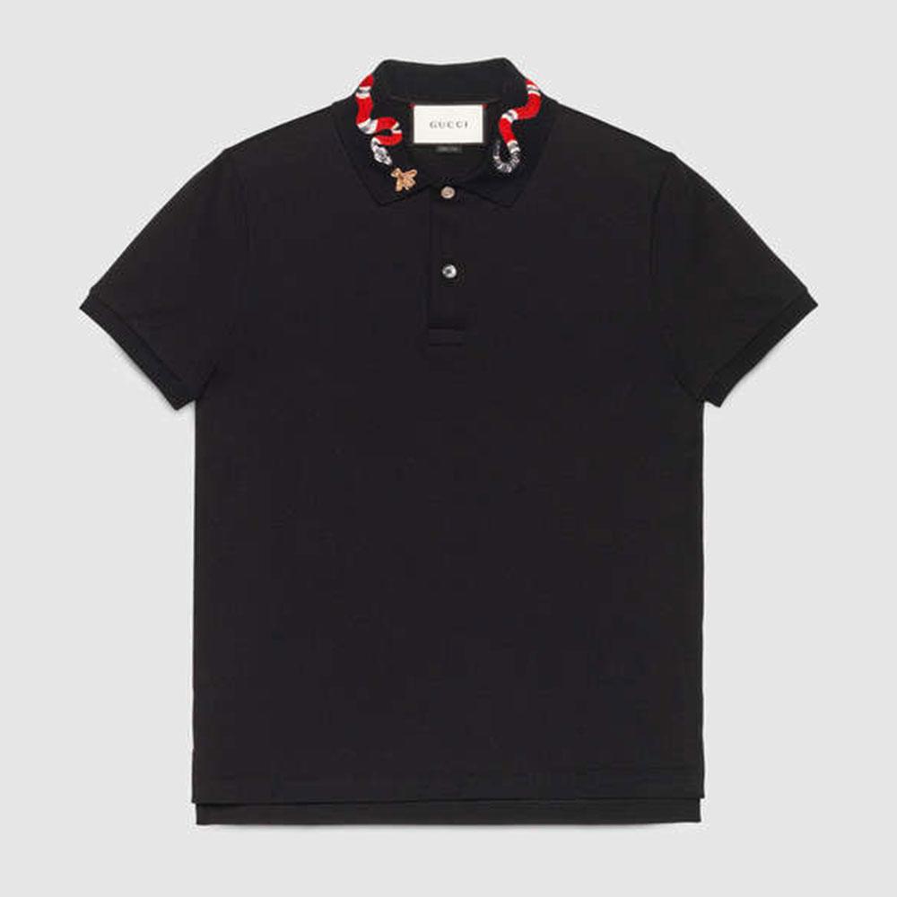 Gucci Snake Tişört Siyah - 5 #Gucci #GucciSnake #Tişört