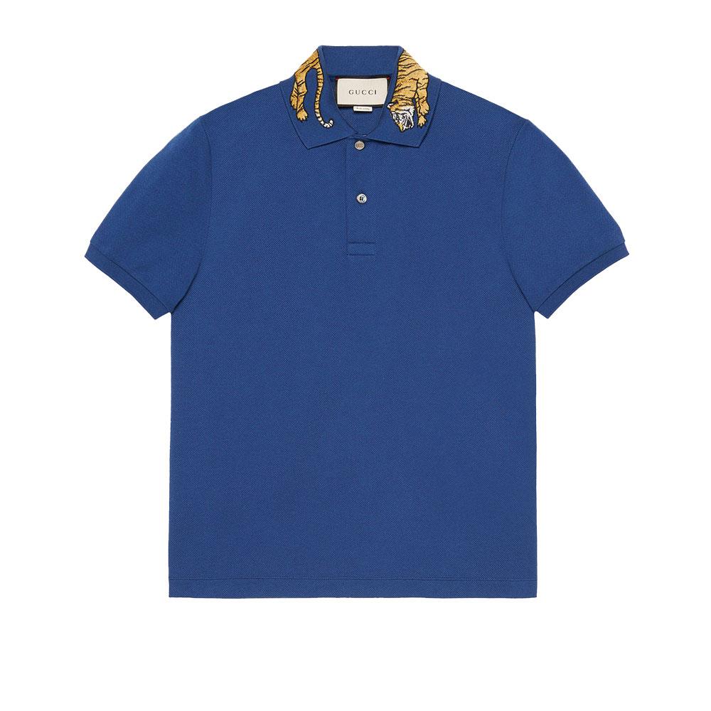 Gucci Polo Tişört Mavi - 33 #Gucci #GucciPolo #Tişört