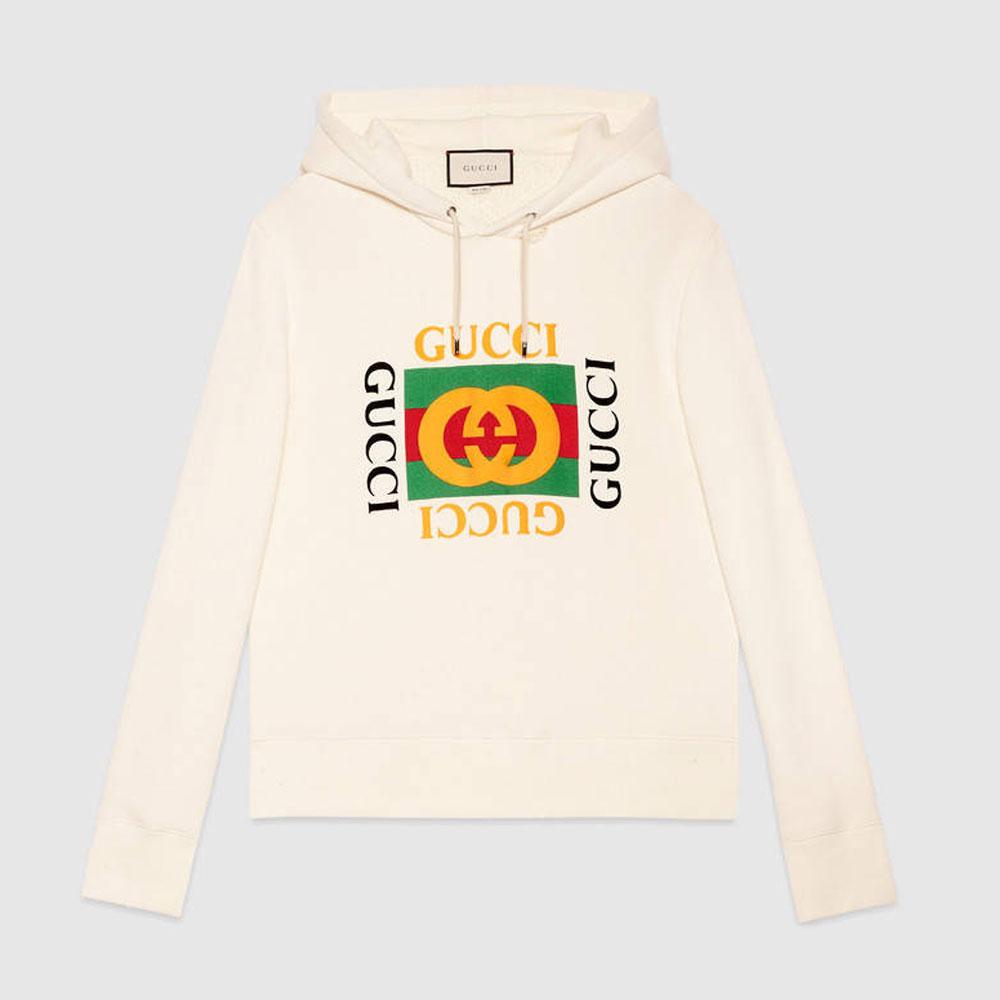 Gucci Jersey Sweatshirt Beyaz - 12 #Gucci #GucciJersey #Sweatshirt
