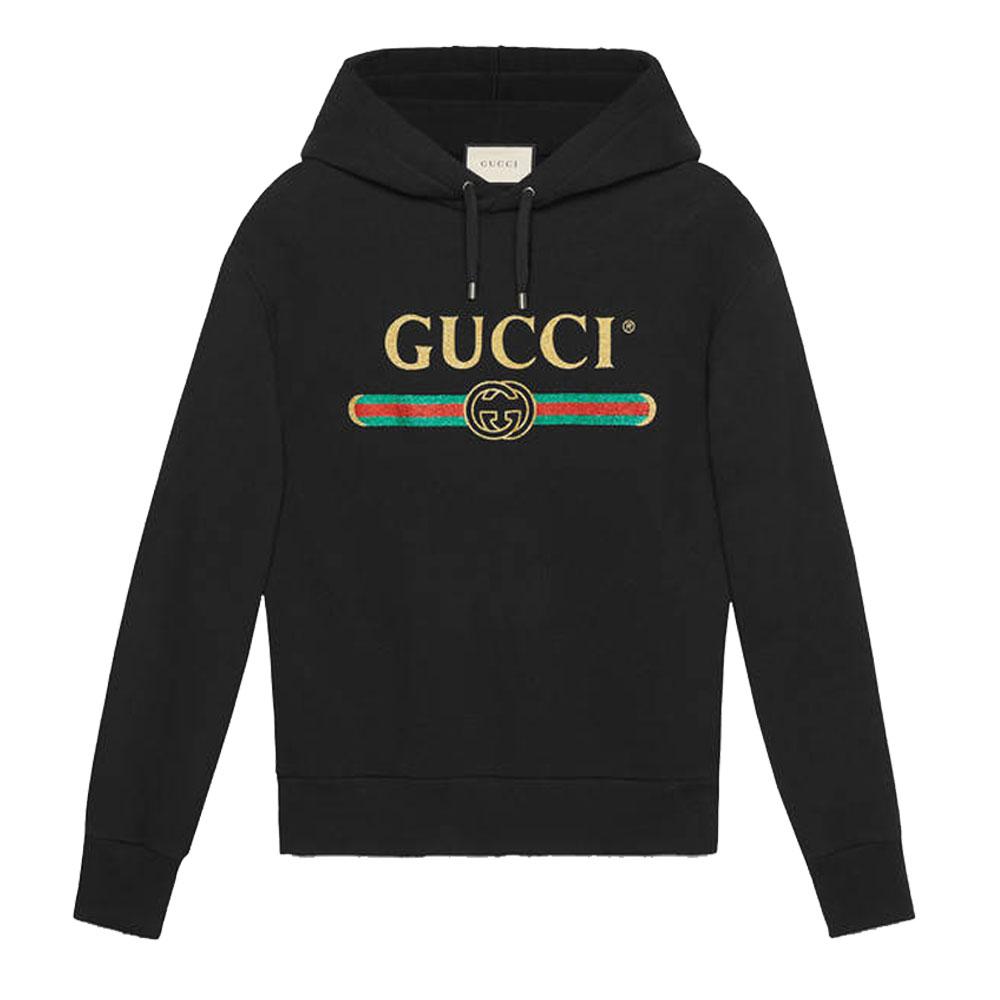 Gucci Glitter Sweatshirt Siyah - 14 #Gucci #GucciGlitter #Sweatshirt
