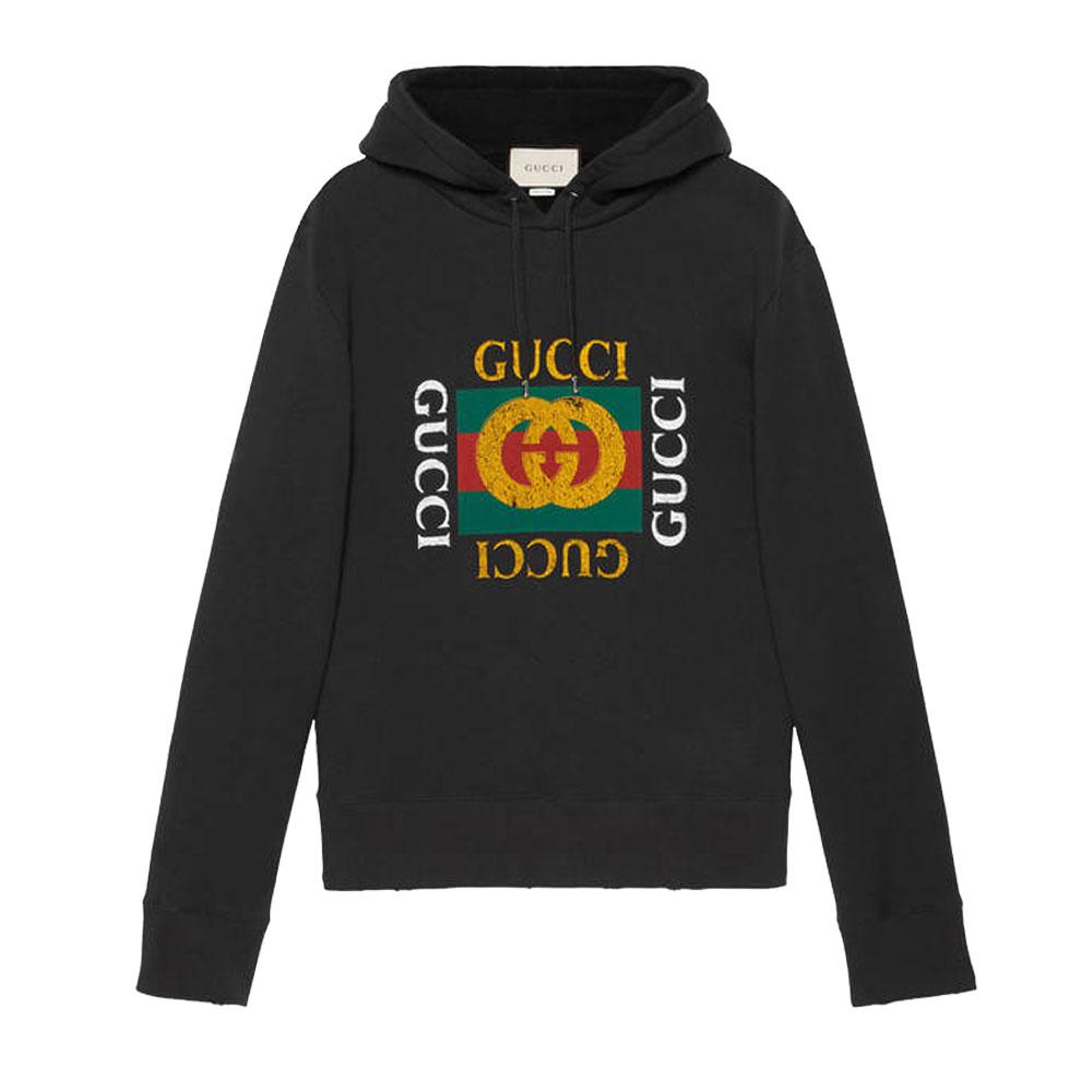 Gucci Jersey Sweatshirt Siyah - 13 #Gucci #GucciJersey #Sweatshirt