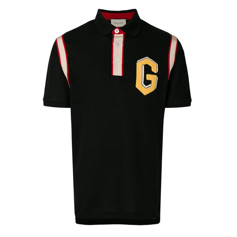 Gucci Logo Tişört Siyah - 118 #Gucci #GucciLogo #Tişört