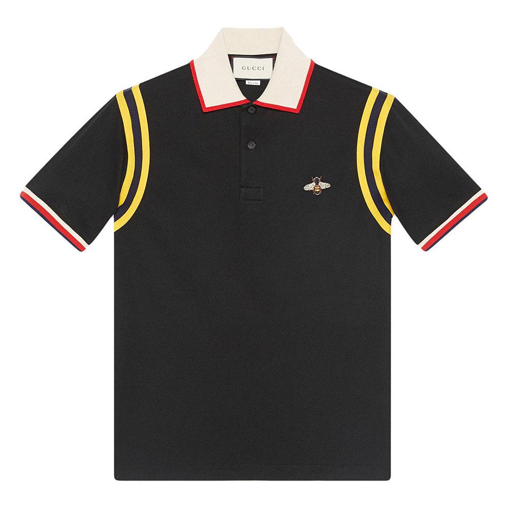 Gucci Polo Tişört Siyah - 117 #Gucci #GucciPolo #Tişört