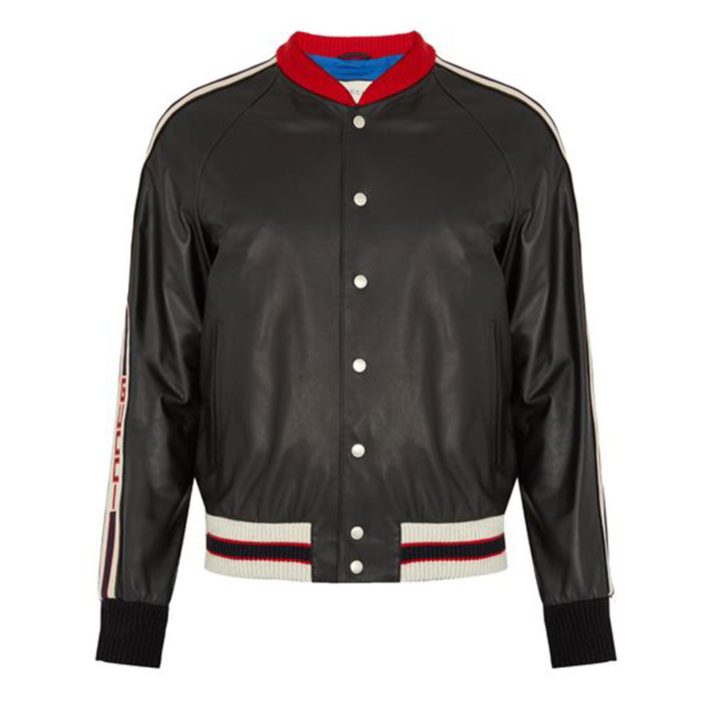 Gucci Hollywood Bomber Ceket Siyah - 21 #Gucci #GucciHollywood #Bomber Ceket