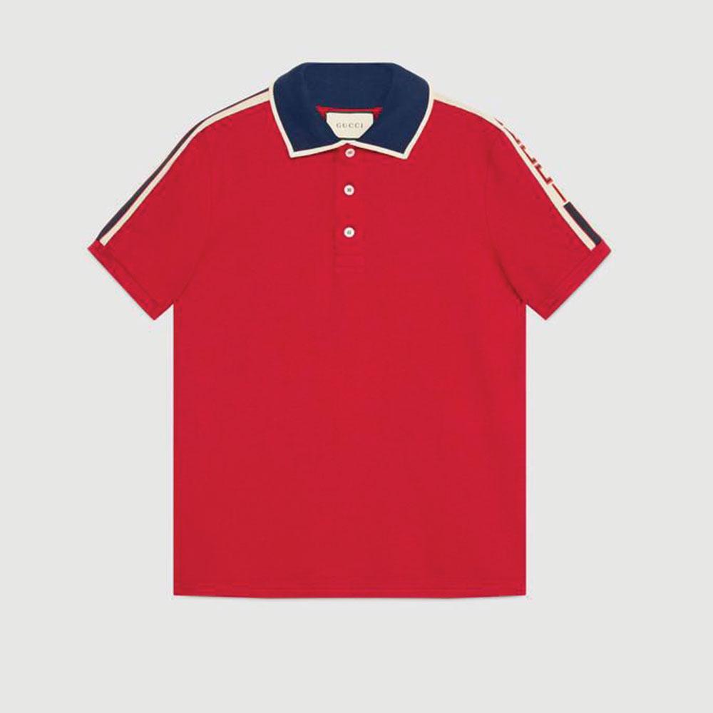 Gucci Stripe Tişört Kırmızı - 100 #Gucci #GucciStripe #Tişört