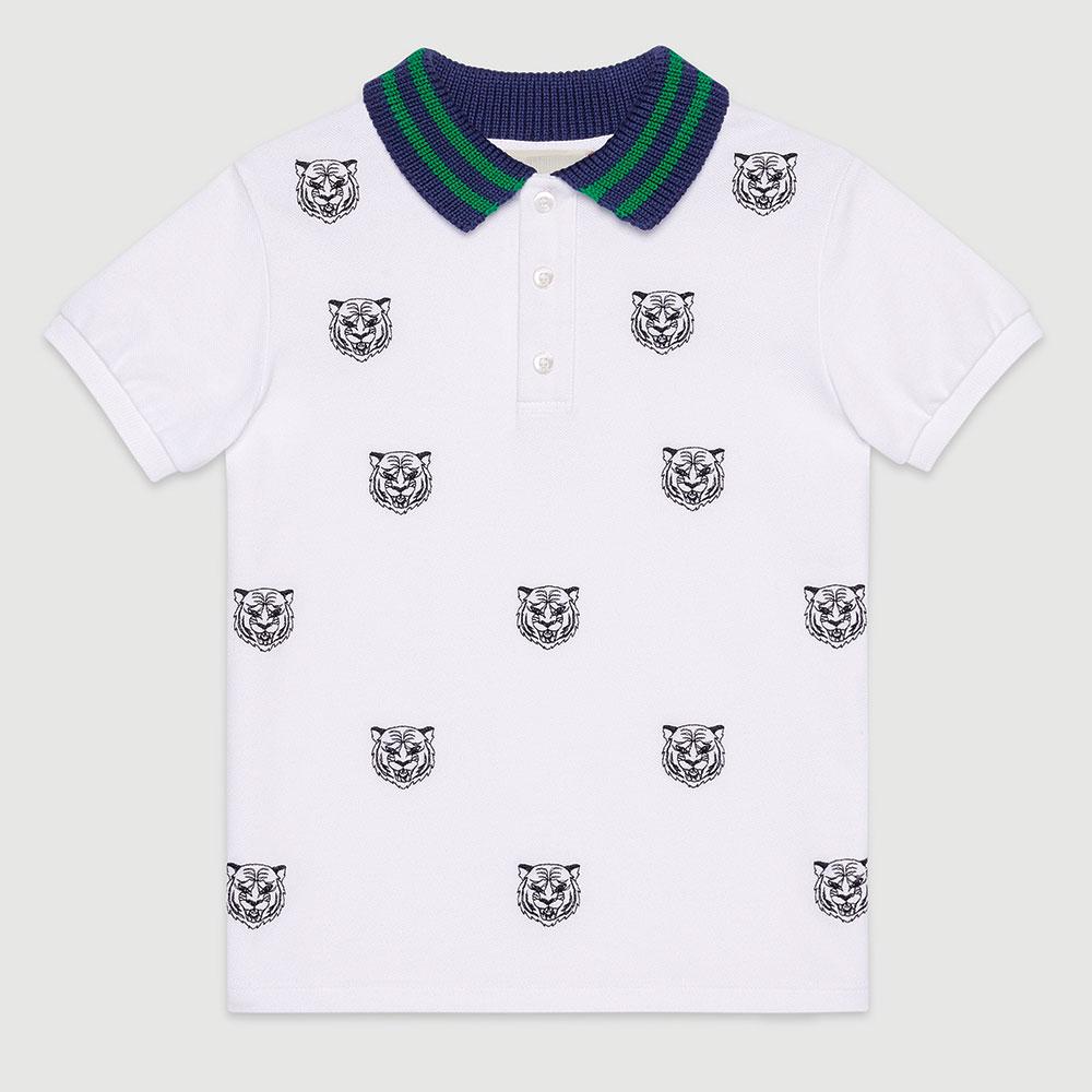 Gucci Polo Tişört Beyaz - 39 #Gucci #GucciPolo #Tişört
