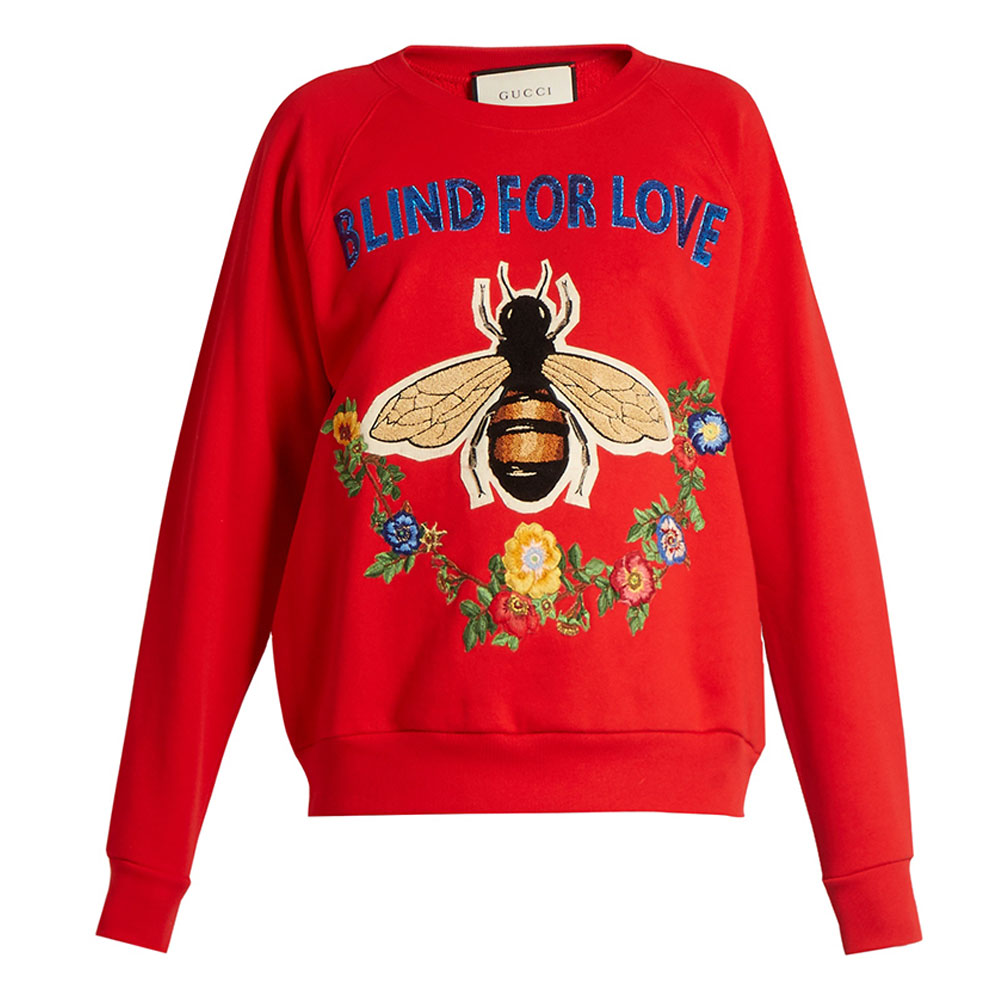 Gucci Floral Sweatshirt Kırmızı - 12 #Gucci #GucciFloral #Sweatshirt