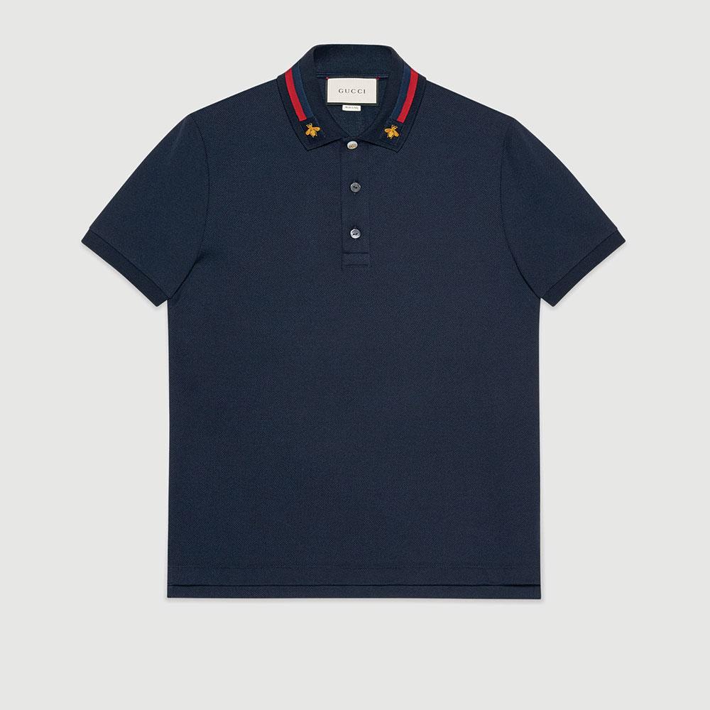 Gucci Polo Tişört Lacivert - 35 #Gucci #GucciPolo #Tişört
