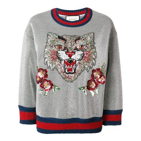 Gucci Sweatshirt Angry Cat Gri #Gucci #Sweatshirt #GucciSweatshirt #Kadın #GucciAngry Cat #Angry Cat