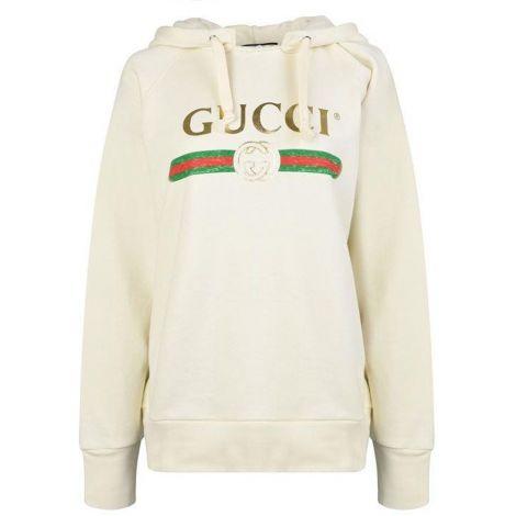 Gucci Sweatshirt Logo Beyaz #Gucci #Sweatshirt #GucciSweatshirt #Kadın #GucciLogo #Logo